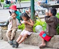 Crianças da rua Foto de Stock