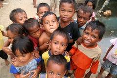 Crianças da vila imagens de stock royalty free