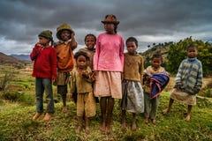 Crianças da vila Fotos de Stock