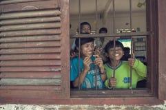 Crianças de Cambodia fotos de stock royalty free