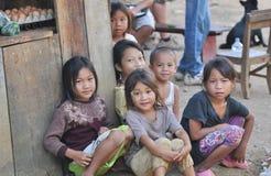 Crianças de Khmu Imagem de Stock Royalty Free