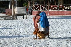 Crianças de Zanzibar imagens de stock