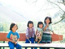 Crianças deficientes felizes Fotos de Stock Royalty Free