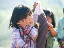 Crianças deficientes felizes Imagens de Stock