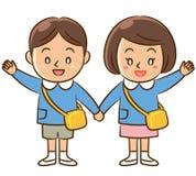 Crianças do jardim de infância Fotografia de Stock