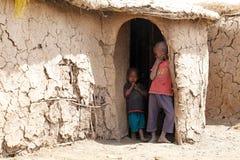 Crianças do Masai imagens de stock