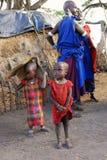 Crianças do Masai Imagem de Stock Royalty Free