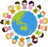 Crianças do mundo Imagens de Stock Royalty Free