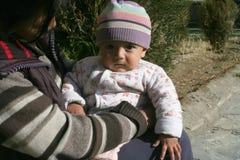 Crianças do mundo Leh, Índia Fotografia de Stock
