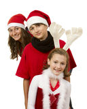 Crianças do Natal Foto de Stock