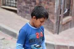 Crianças do refugiado na Turquia imagem de stock