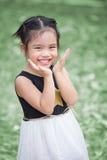 Crianças do retrato que sentem felizes fotografia de stock royalty free