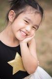 Crianças do retrato que sentem felizes imagens de stock