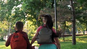 Crianças e educação, irmã e irmão vídeos de arquivo