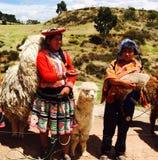 Crianças em Cusco Foto de Stock Royalty Free