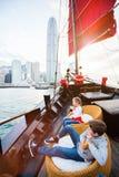 Crianças em Hong Kong fotografia de stock