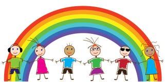 Crianças engraçadas Imagens de Stock