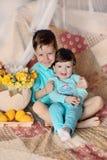 Crianças engraçadas Imagens de Stock Royalty Free