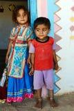 Crianças expressivos Fotografia de Stock