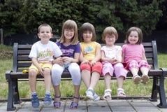 Crianças felizes Foto de Stock Royalty Free