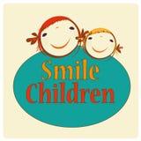 Crianças felizes Imagem de Stock Royalty Free