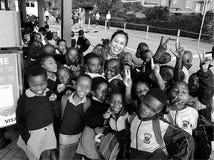 Crianças felizes de África do Sul Imagens de Stock Royalty Free