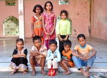 Crianças indianas Fotos de Stock
