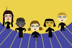 Crianças internacionais do dia Ilustração Royalty Free