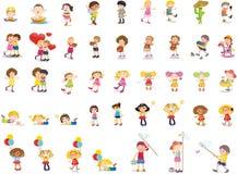 Crianças misturadas Foto de Stock
