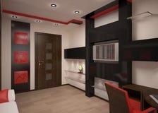 Crianças modernas interiores Imagem de Stock Royalty Free