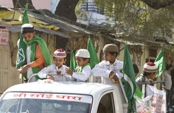 Crianças muçulmanas indianas Imagem de Stock