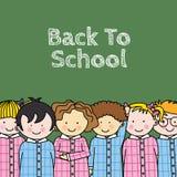 Crianças na escola Fotos de Stock Royalty Free