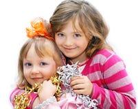 Crianças no feriado. Imagens de Stock