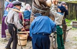 Crianças no trabalho - espetáculo Fotografia de Stock