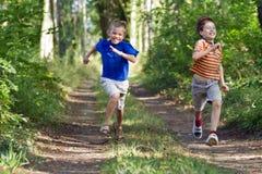 Crianças novas Fotos de Stock Royalty Free
