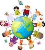 Crianças novas ajustadas Fotos de Stock