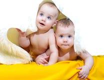 Crianças pequenas Fotos de Stock Royalty Free