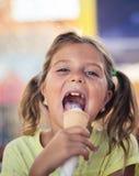 Crianças pequenas da alegria doce durante o verão foto de stock royalty free