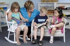 Crianças prées-escolar Fotografia de Stock