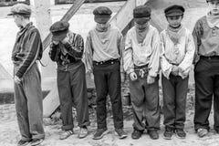 Crianças punidas - espetáculo Imagens de Stock
