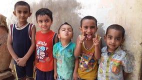 Crianças que apreciam junto fotos de stock royalty free
