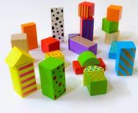 Crianças que jogam o bloco Imagens de Stock