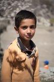 Crianças que vêm à escola em Skardu, Paquistão Foto de Stock