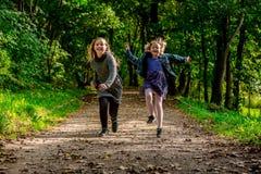 Crianças Running Foto de Stock
