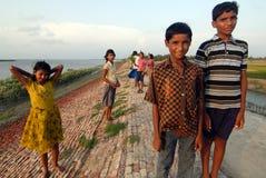 Crianças rurais Fotografia de Stock
