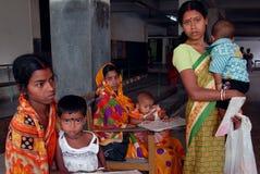 Crianças subnutridos em India Foto de Stock Royalty Free
