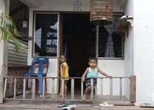 Crianças tailandesas Foto de Stock Royalty Free
