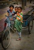 Crianças tibetanas imagens de stock