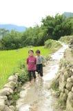 Crianças vietnamianas imagens de stock royalty free
