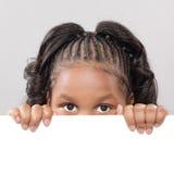 Criança com espaço da cópia Fotografia de Stock Royalty Free
